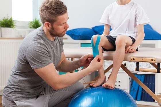 3 beneficios de aplicar vendaje neuromuscular en lesiones