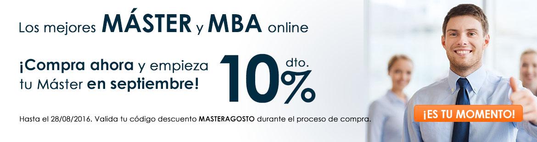 10% dto. en los mejores M�STER y MBA
