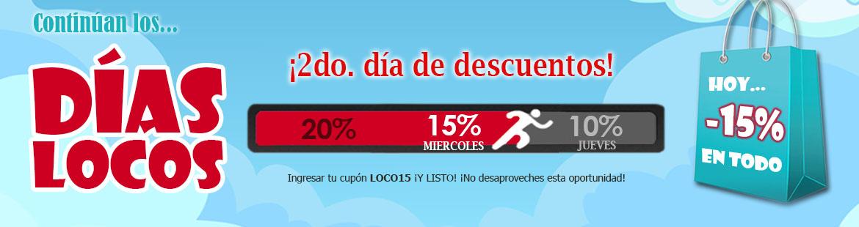 ¡Hoy 15% dto. en TODO el Catálogo!