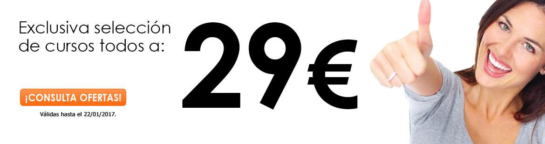 ¡Espectaculares ofertas a 29€!