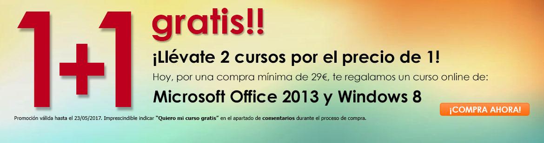 ¡¡Compra tu curso y llévate GRATIS otro de Office!!