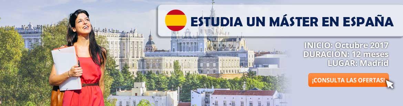 Reserva tu plaza y estudia en España ¡¡Quedan pocas!!